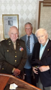 Jerry, Ken Dalecki, and WWII friend at the NPC