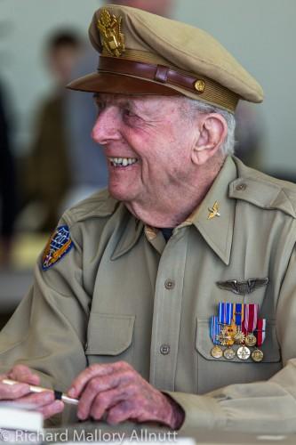 Captain Jerry Yellin Sharing his story